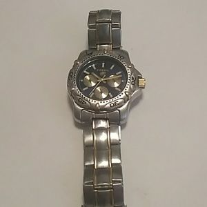 Fossil Blue Mens Watch No Battery Untested